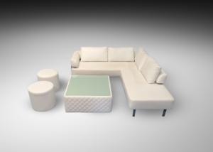 ottoman, lounge furniture