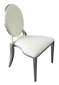 Chrome Dior Dining Chair, dining chair
