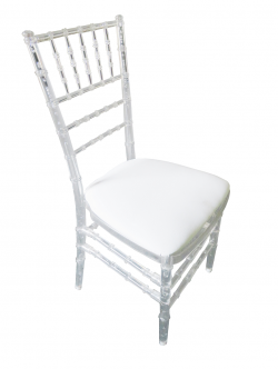 Clear Acrylic Chiavari Chair, Acrylic Tiffany Chair