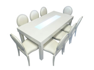 Clement Dining Table with Louis DIning Chairs 1 300x225 - Clement Dining Table