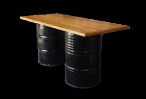 Collins Bar Table Black e1548847873665 1 300x204 - Collins Bar Table  - Black