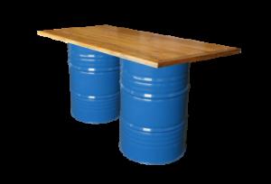Collins Bar Table Blue e1548848209932 1 300x204 - Collins Bar Table - Blue