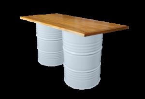 Collins Bar Table White e1548848076366 1 300x204 - Collins Bar Table - White