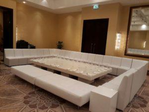 lounge furniture, wenge coffee table, ottoman, sofa