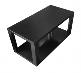 Devon Rectangular Coffee Table Black e1494399478343 1 1 - Devon Black Rectangular Coffee Table
