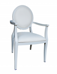 Dior Dining Chair with Arms e1486895093838 1 - White Dior Dining Armchair
