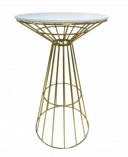 Fontana Gold Cocktail Table White e1573461054452 1 - Fontana Gold Cocktail Table - White