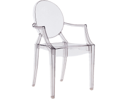 Ghost Chair e1474458609889 1 1 - Dauphin Ghost Armchair