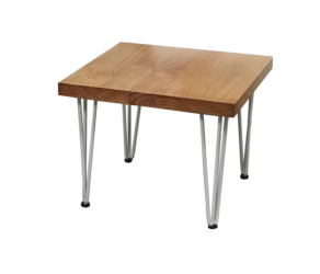 Rustic side table, hairpin side table, coffee table