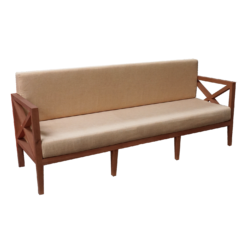Rustic Wooden Sofa, outdoor sofa
