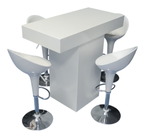 IMG 0910 copy 1 1 300x284 - Le Minou Rectangular High Table