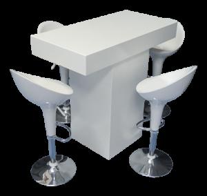 IMG 0910 copy 1 300x284 - Le Minou Rectangular High Table