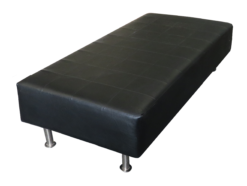 ottoman, daybed, leather bench