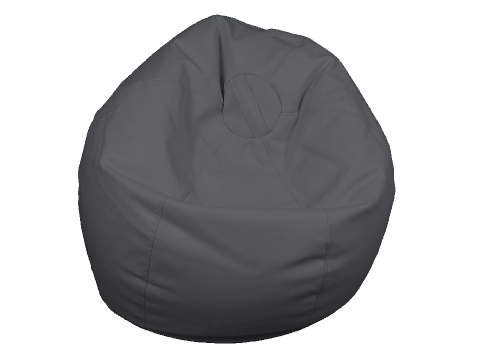 Sensational Jilly Bean Bag Gray Short Links Chair Design For Home Short Linksinfo