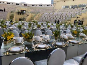 LE Minou Emerald 1 300x225 - Le Minou Regal Glass Dining Table
