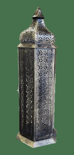 Large Brass Arabic Lamp e1495014460617 1 - Large Brass Arabic Lamp