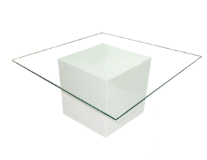 Le Minou Glass Coffee Table 1 1 1 300x233 - Le Minou Square Glass Coffee Table