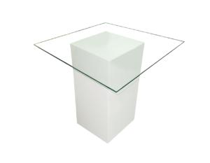Le Minou Glass Dining Table 1 1 1 300x233 - Le Minou Square Glass Dining Table