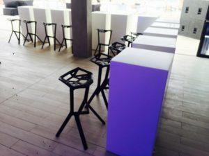 Le Minou High Table with Valencia Bar Stool 3 2 300x225 - Valencia Bar Stool