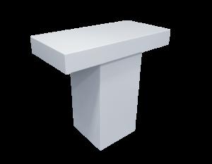 Le Minou Rectangular High Table 1 300x233 - Le Minou Rectangular High Table
