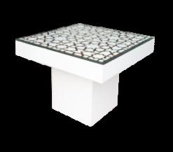 mashrabiya wooden table, ramadan furniture, dining table