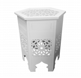 Madina White Coffee Table e1553508145600 1 - Madina White Coffee Table