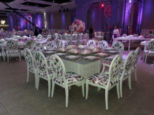 wedding furniture, dior dining chair