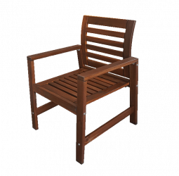 Oakwood Wooden Armchair e1543055716399 1 - Oakland Wooden Armchair