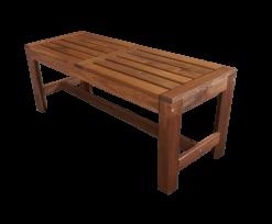 wooden rustic bench, outdoor bench