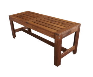 Oakwood Wooden Bench 1 300x248 - Oakland Rustic Bench