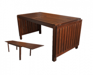 Oakwood Wooden Table e1543055392112 1 300x244 - Oakland Rustic Dining Table