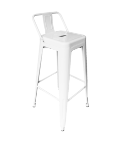 Pauchard Bar Chair White e1575807975470 1 - Pauchard Bar Chair - White