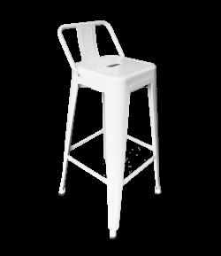 Pauchard Bar Chair White e1575807975470 1 - Pauchard Bar Chair - White