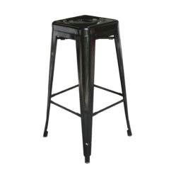 Pauchard Bar Stool - Black