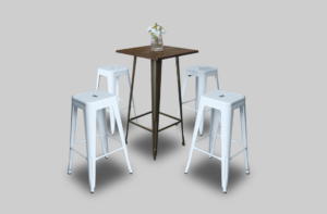 Pauchard High Table Setup