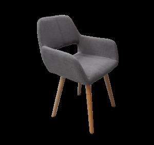 Armchair, grey armchair, gray armchair