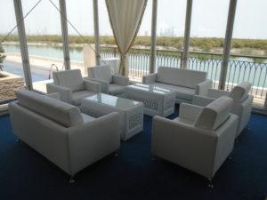 lounge furniture, lounge sofa, single seater sofa, double seater sofa, mashrabiya coffee table, leather coffee table