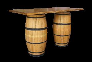 Provinzia Bar Table 1 300x203 - Provinzia Wooden Barrel Bar Table