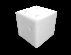 Roma Button Square Pouffe 1 1 300x230 - Roma Button Square Pouffe