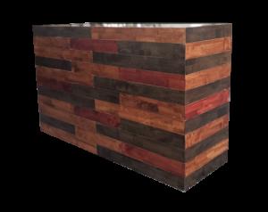 Rustico Wooden Bar 1 300x238 - Rustico Wooden Bar