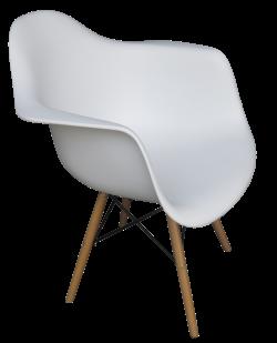 Scandinavian Armchair e1487063612556 1 1 - Scandinavian Armchair - White