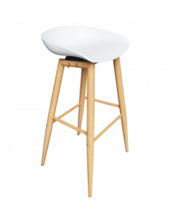 wooden bar stool, scandinavian bar stool, high seating