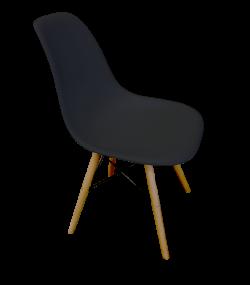 Scandinavian Chair Black e1574228618753 1 - Scandinavian Chair - Black