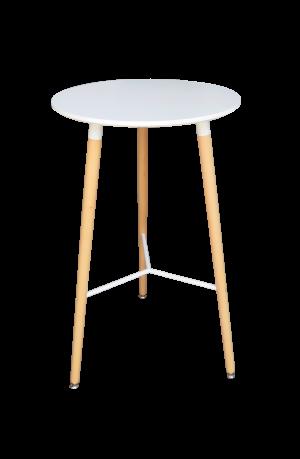 Scandinavian Round High Table Areeka Event Rentals