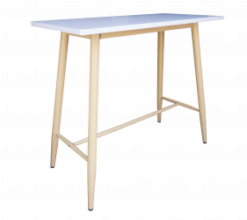 Wooden High Table, scandinavian high table, bar table, cocktail table