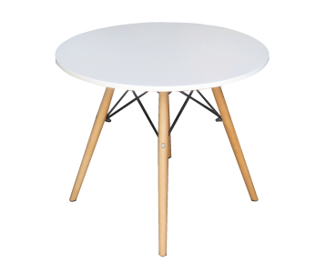 Scandinavian Round Coffee Table Areeka Event Rentals