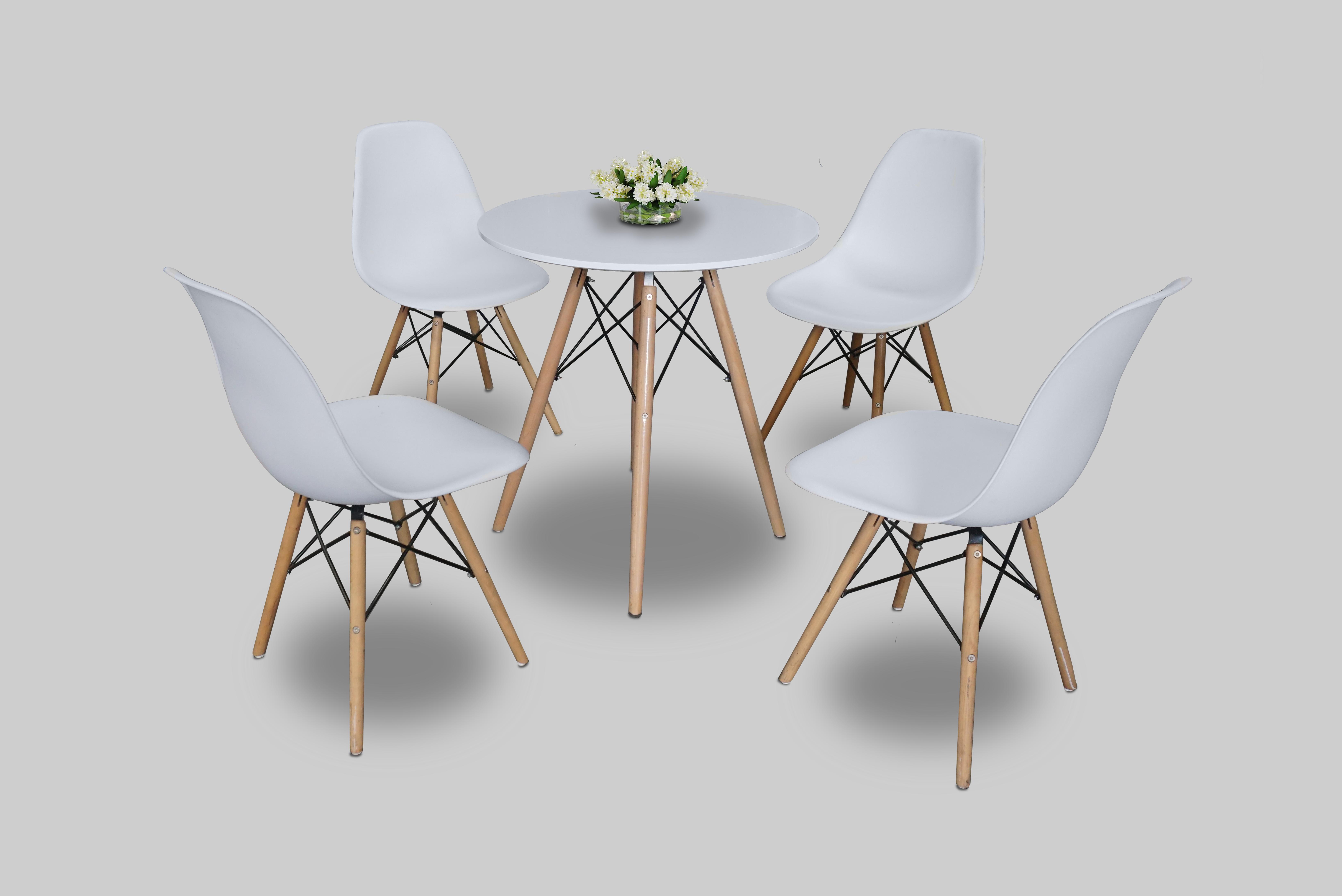 Scandinavian Round Dining Table Furniture Rentals In Dubai Abu Dhabi Uae