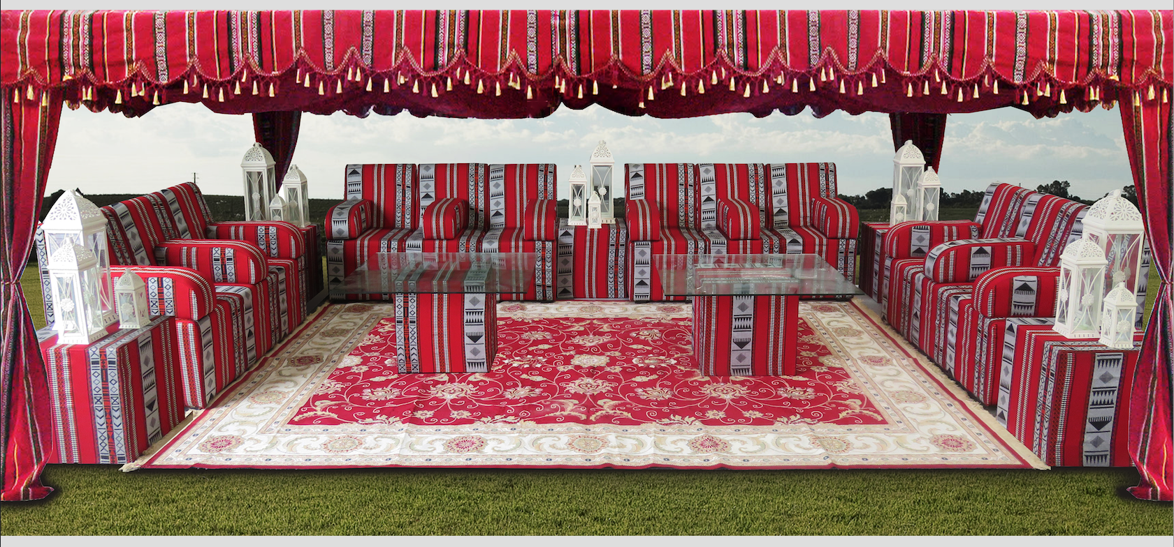 Arabic Tent Available For Rent Or Sale Within Dubai Abu