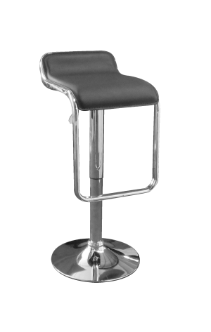 Toledo Bar Stool Black e1512997057259 1 300x473 - Toledo Black Bar Stool