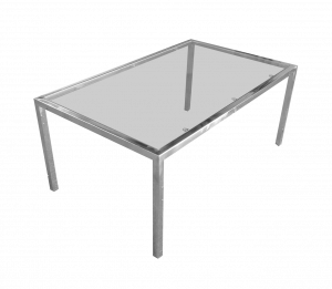 metal glass coffee table, lounge furniture